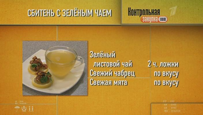 Контрольная закупка чай в