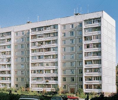 Типичный дом 121 серии